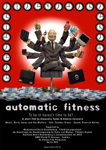 Automatic fitness poster
