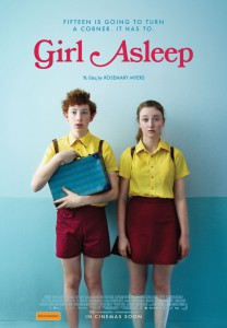 Girl asleep poster