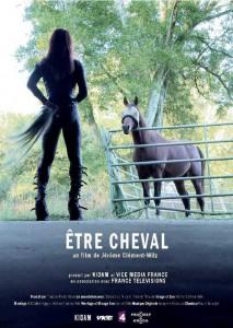 Être cheval poster