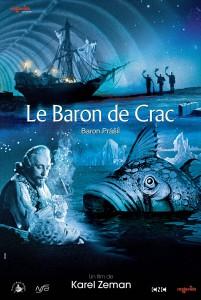 The outrageous Baron Munchausen poster