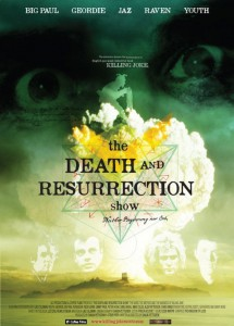 The Death & Resurrection show poster