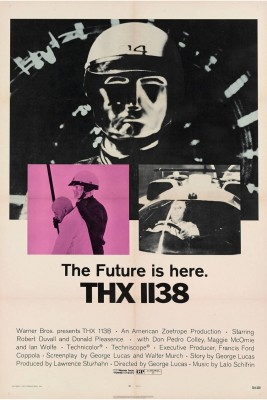THX 1128 - Director's cut poster