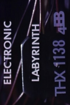 Electronic labyrinth poster
