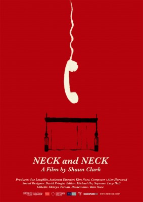Neck and neck poster