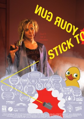 Stick to your gun poster