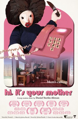 Hi, it's your mother poster