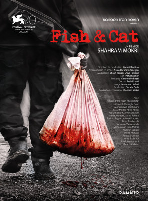 Fish & cat poster
