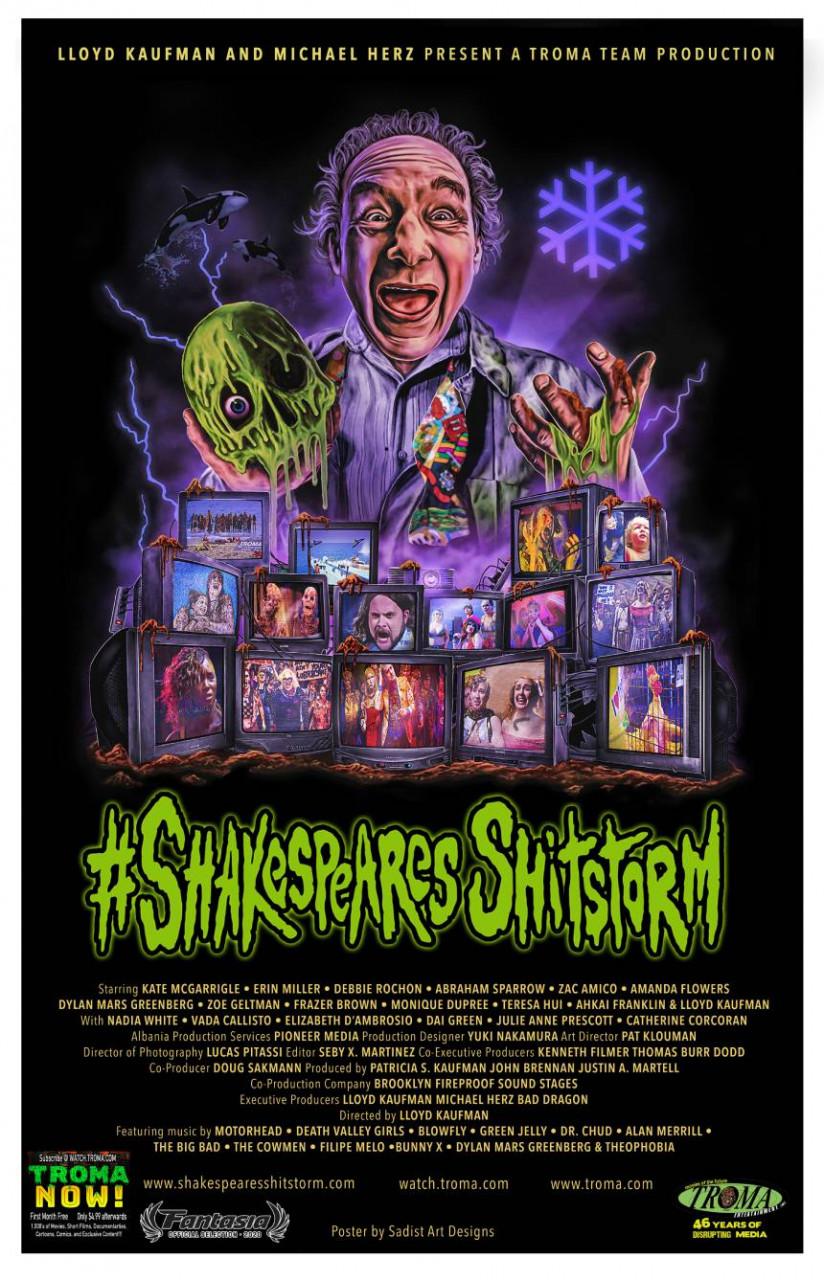 Poster Shakespeare's sh*tstorm