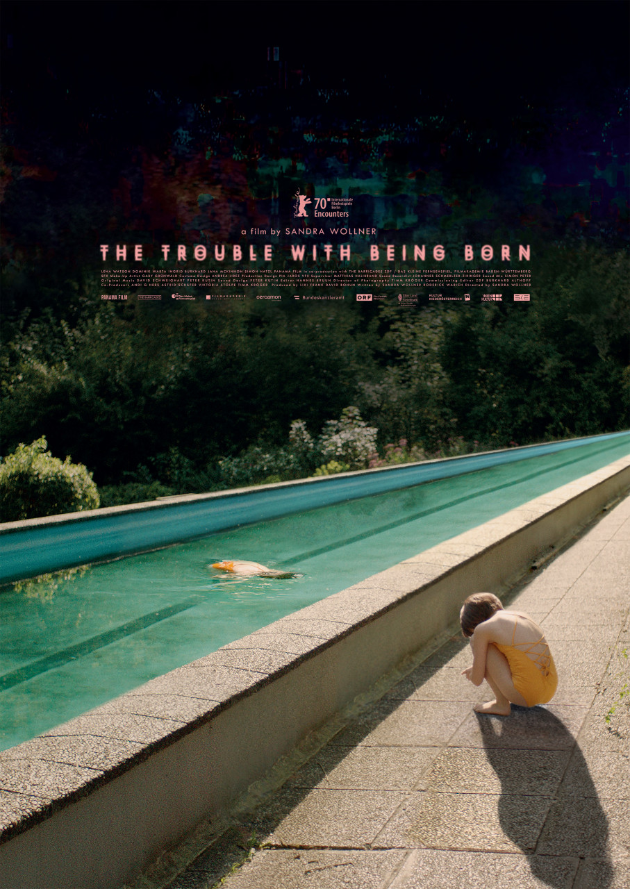 Poster The trouble with being born
