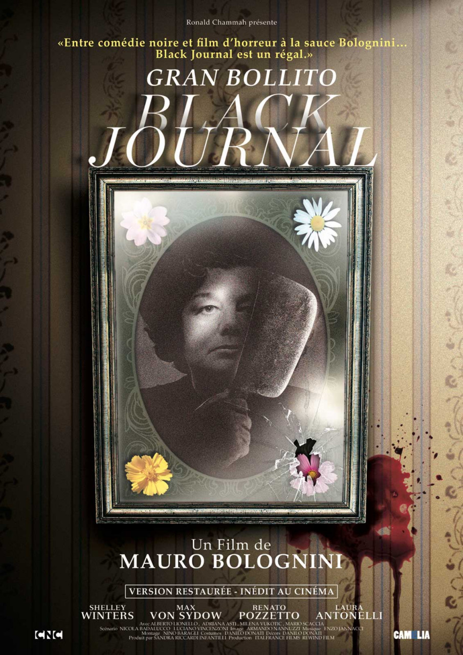 Poster Black journal