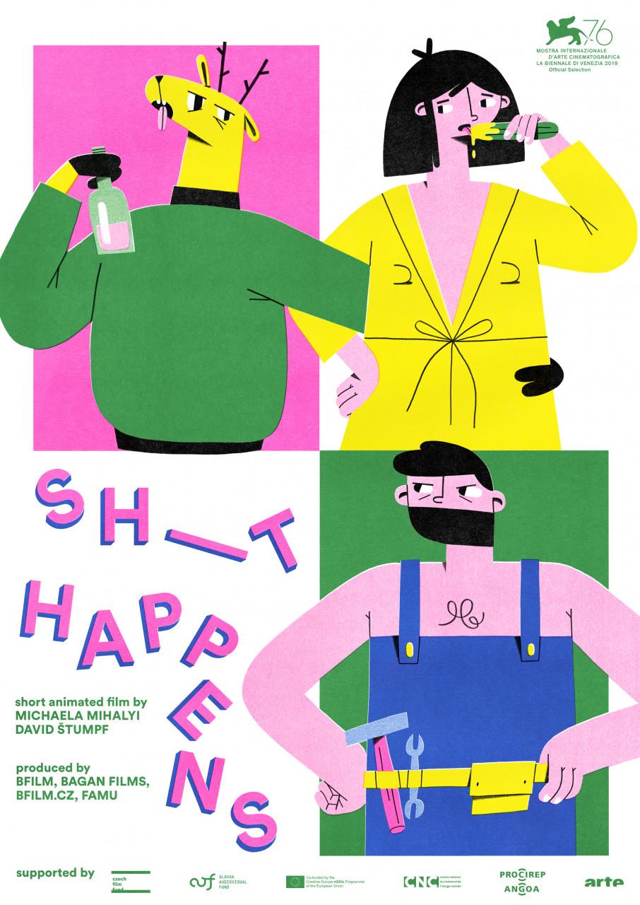 Poster Sh_t happens