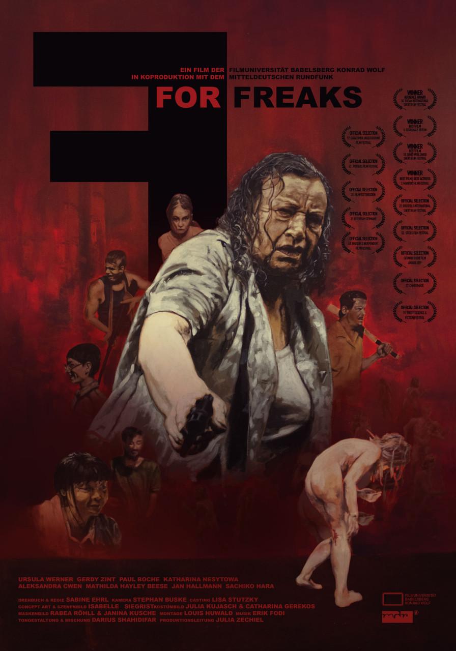 Poster F for Freaks