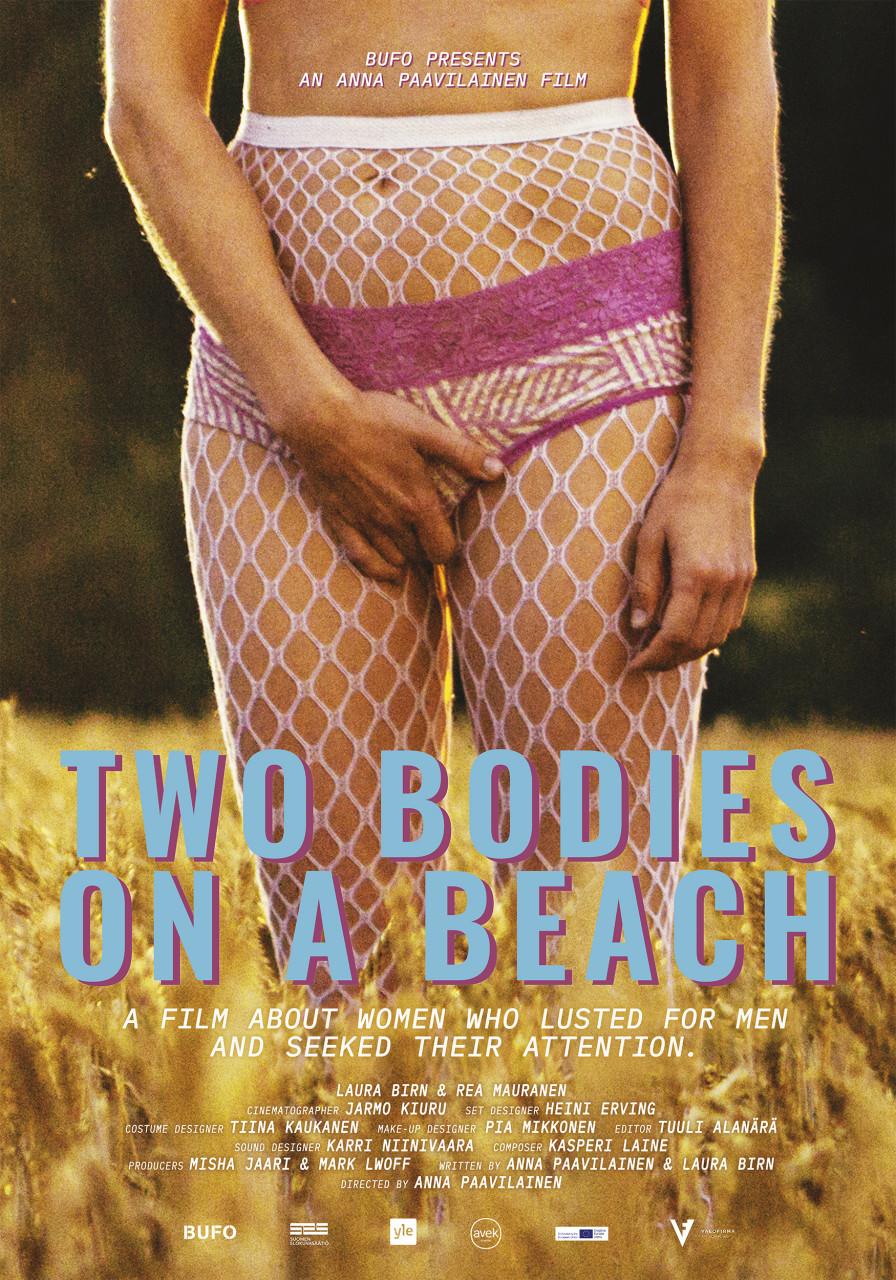 Poster Kaksi ruumista rannalla