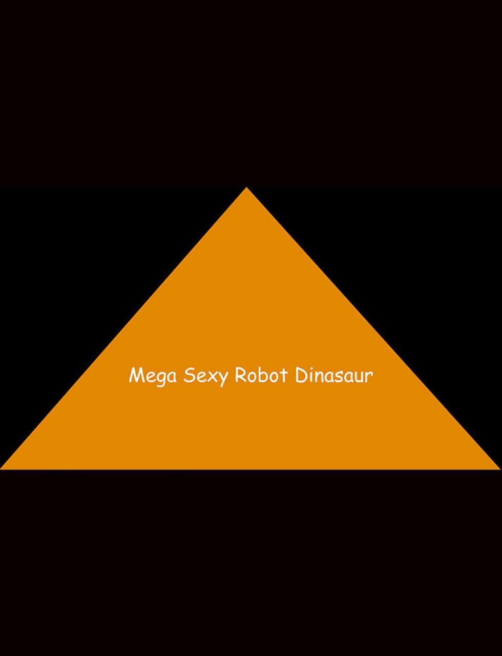 Poster Mega Sexy Robot Dinosaur