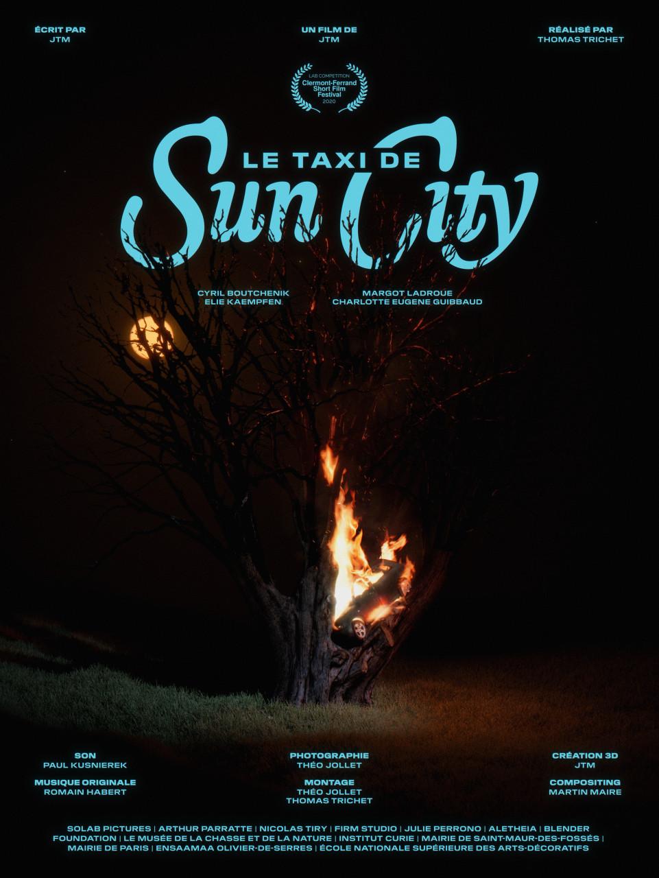 Poster Le taxi de Sun City