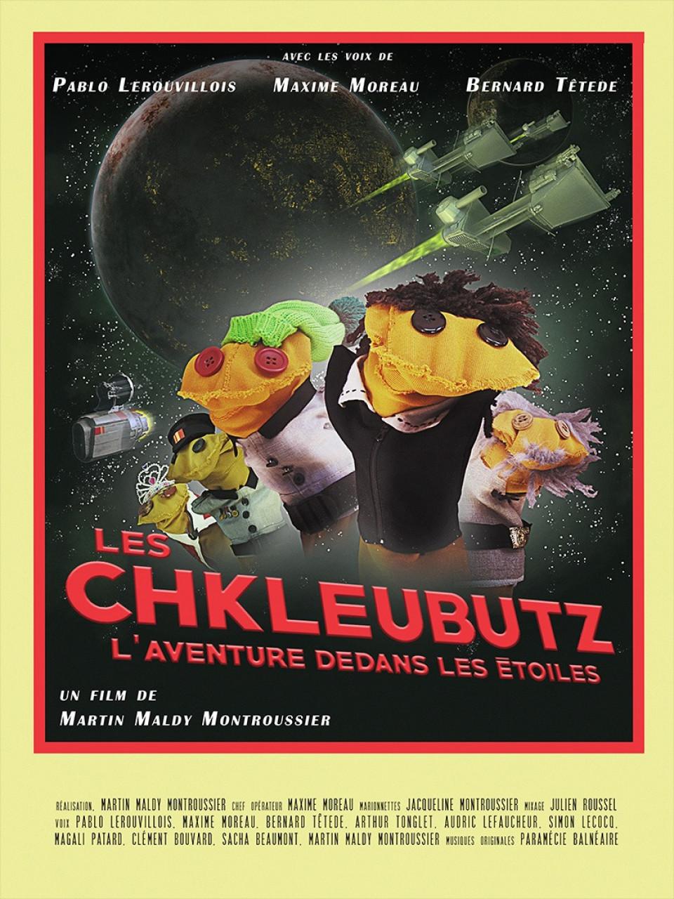 Poster Les Chkleubutz, l'aventure dedans les étoiles