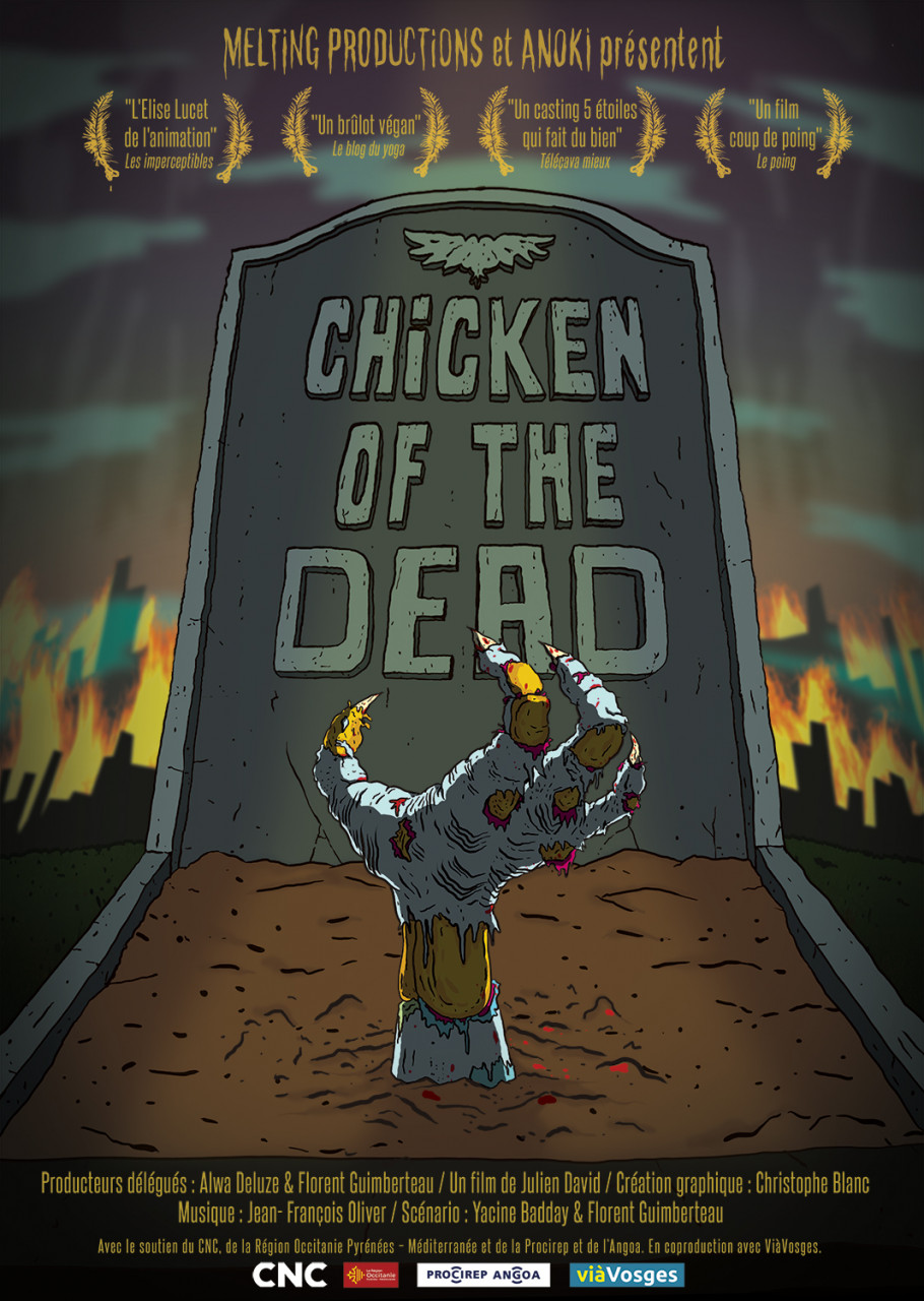 Poster Chicken of the dead