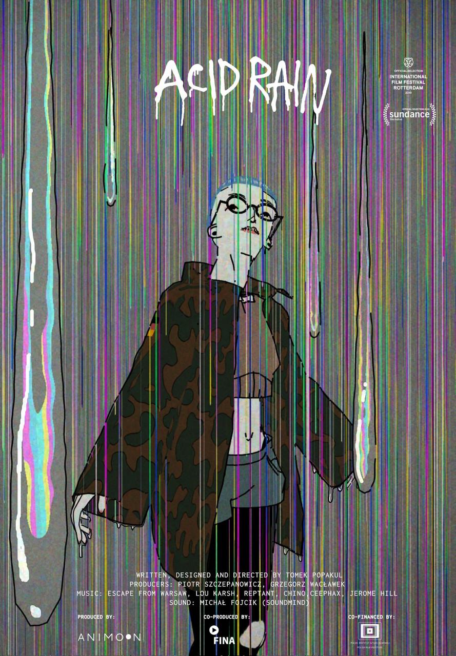 Poster Acid rain