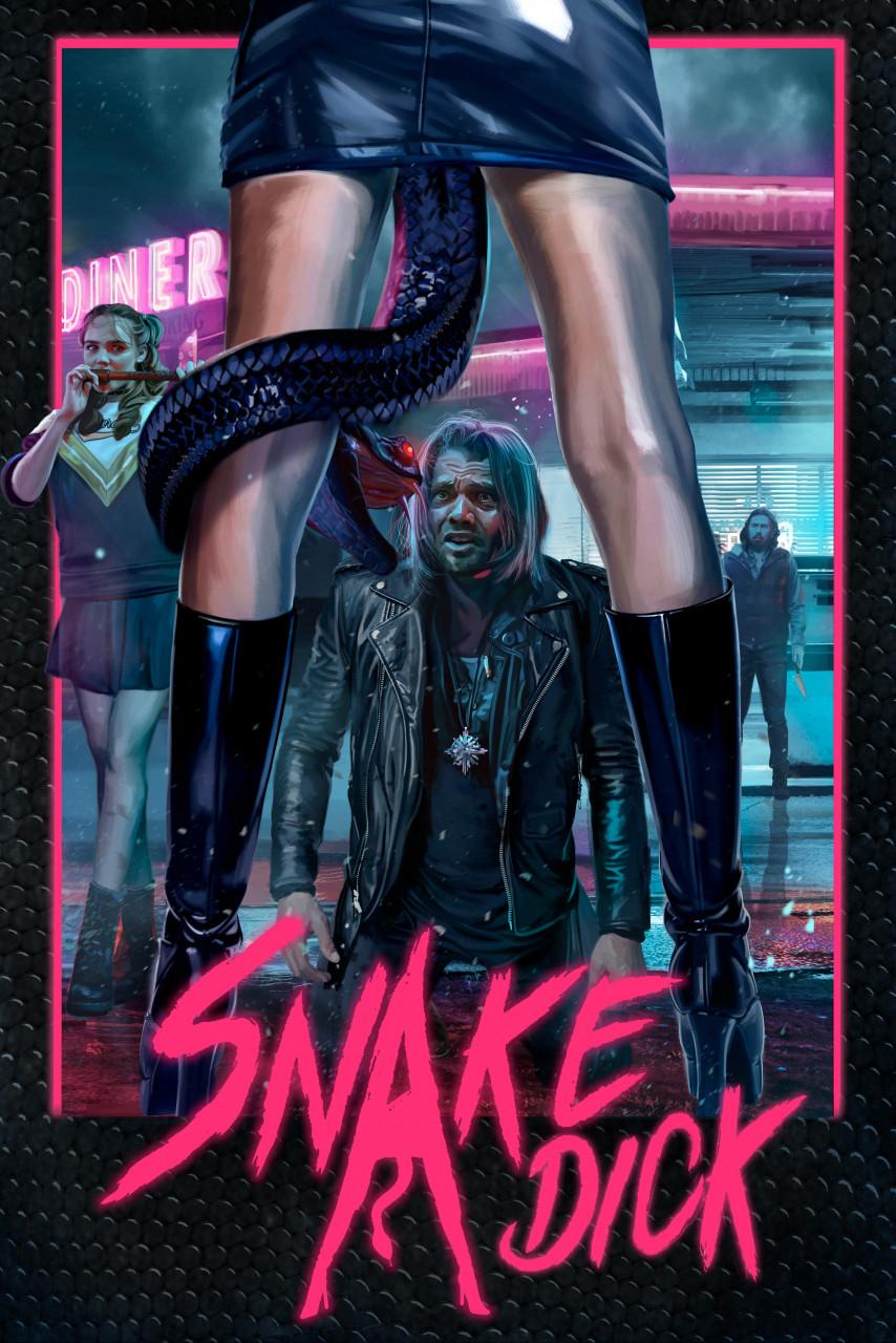 Poster Snake dick
