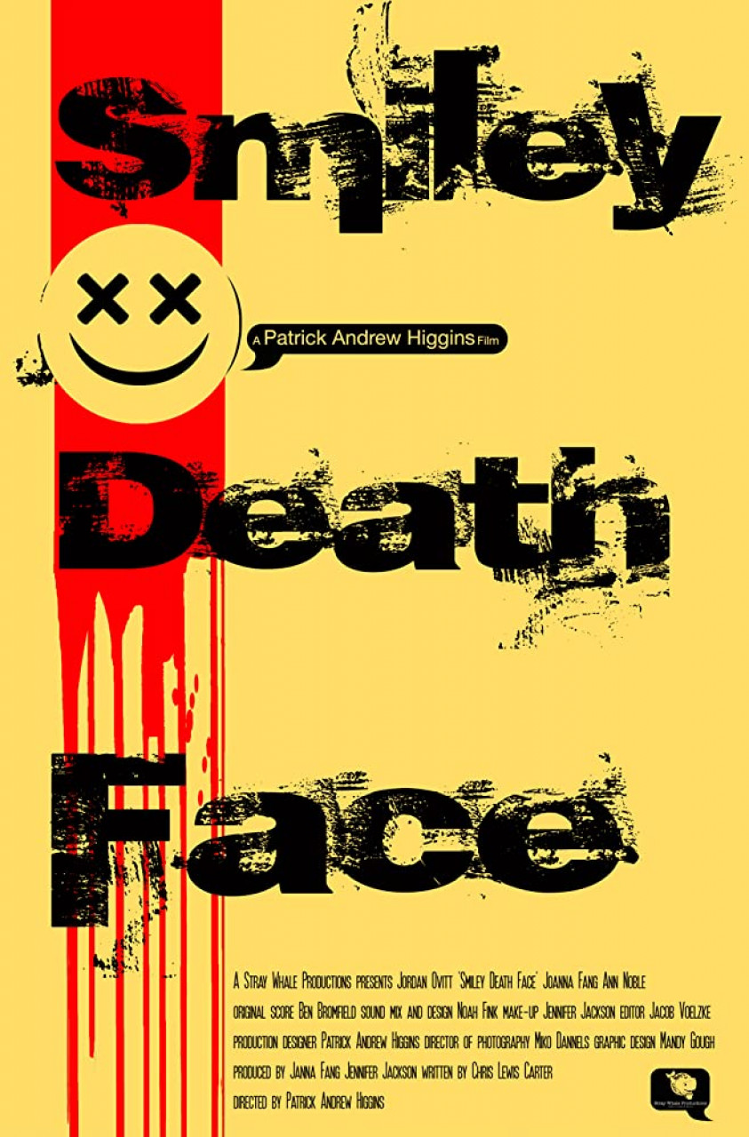Poster Smiley death face