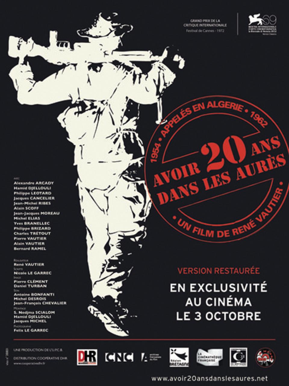 Poster Avoir vingt ans dans les Aurès