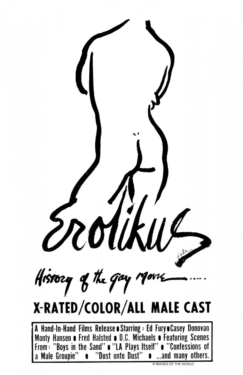 Poster Erotikus : a history of the gay movie