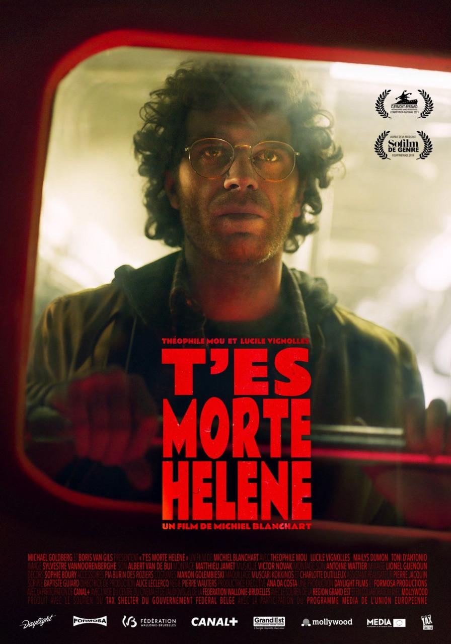 Poster T'es morte Hélène