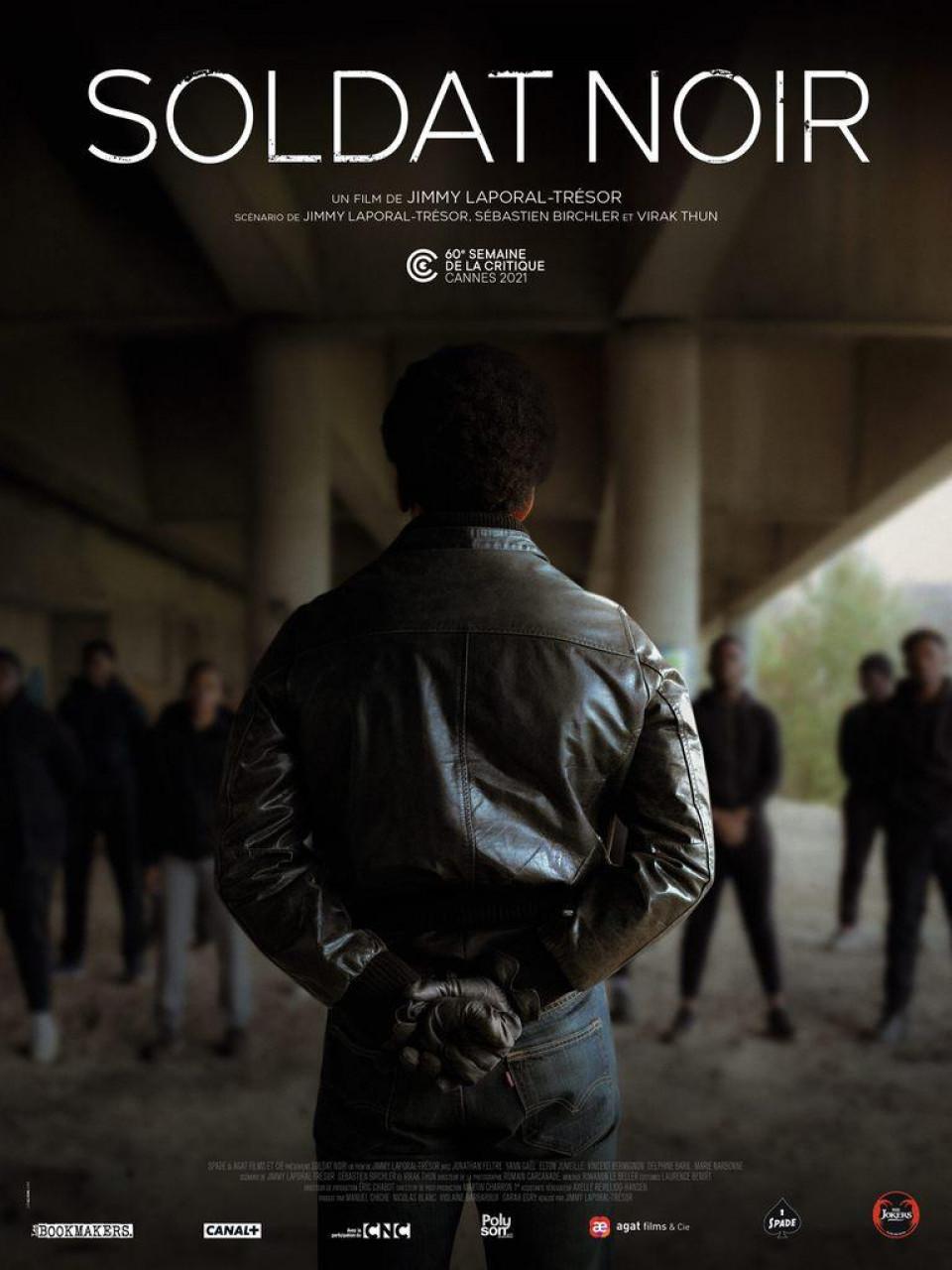 Poster Soldat noir