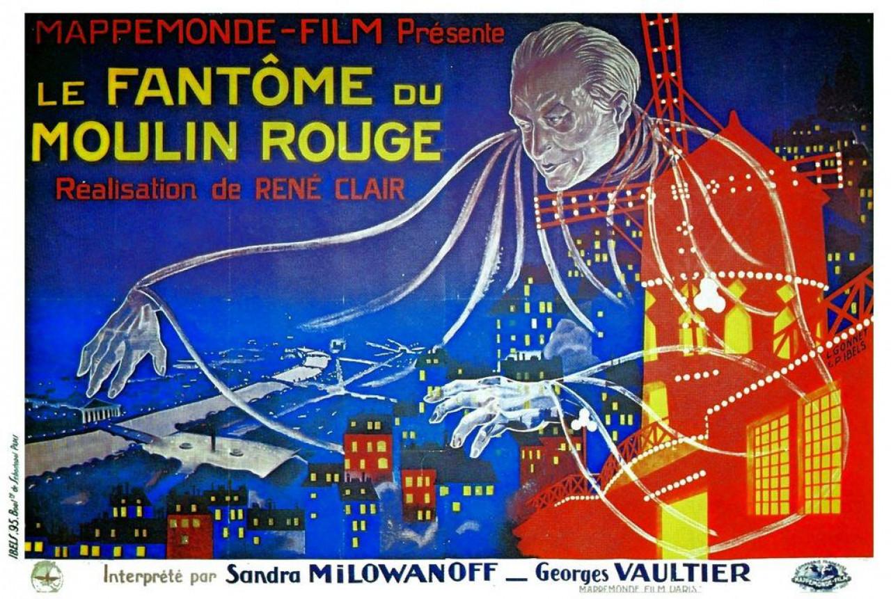 Poster Le fantôme du Moulin Rouge