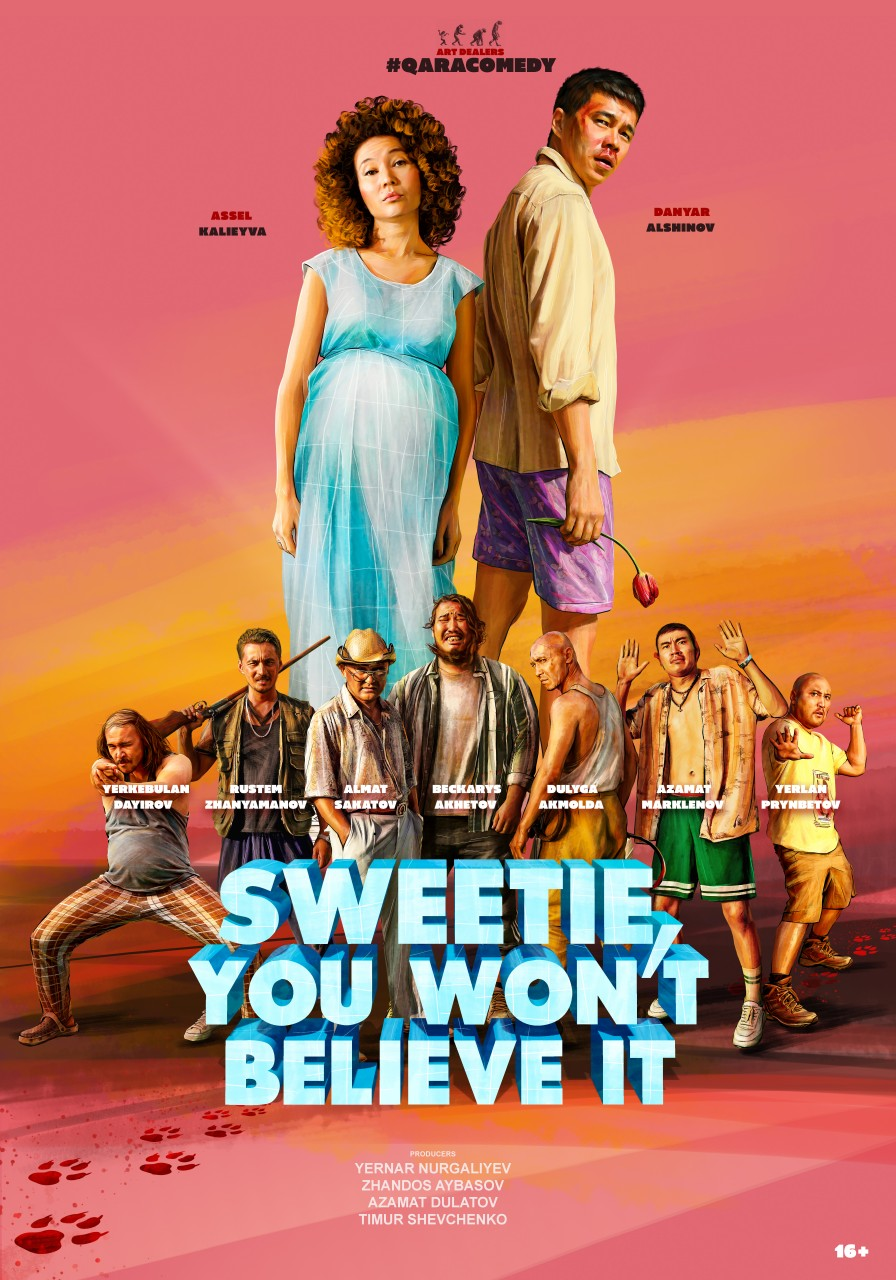 Poster Sweetie you won't believe it