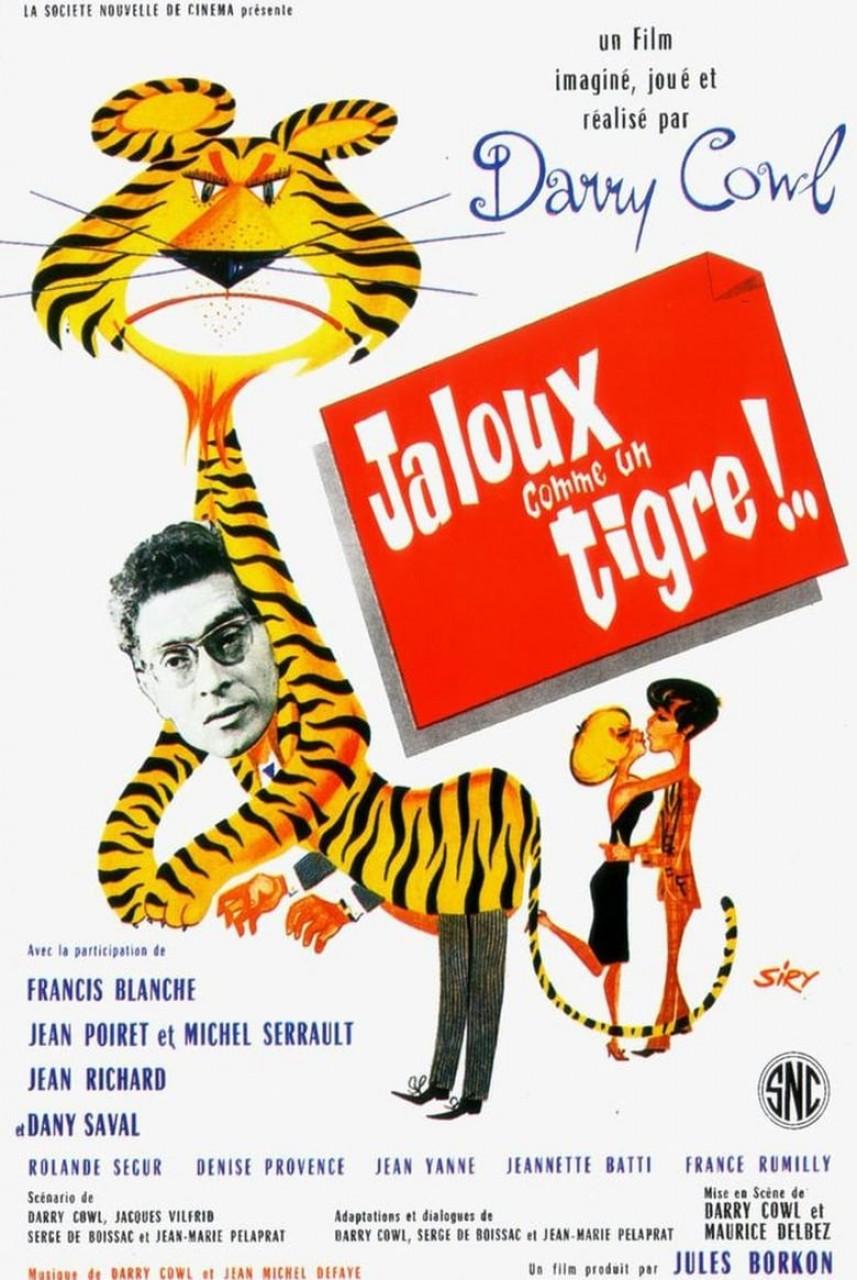 Poster Jaloux comme un tigre