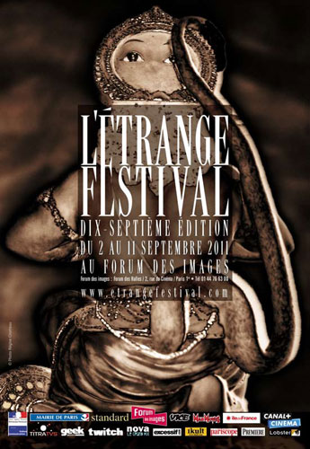 Affiche de L&#39;&Eacute;trange Festival 2011