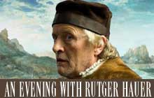 An evening with Rutger Hauer