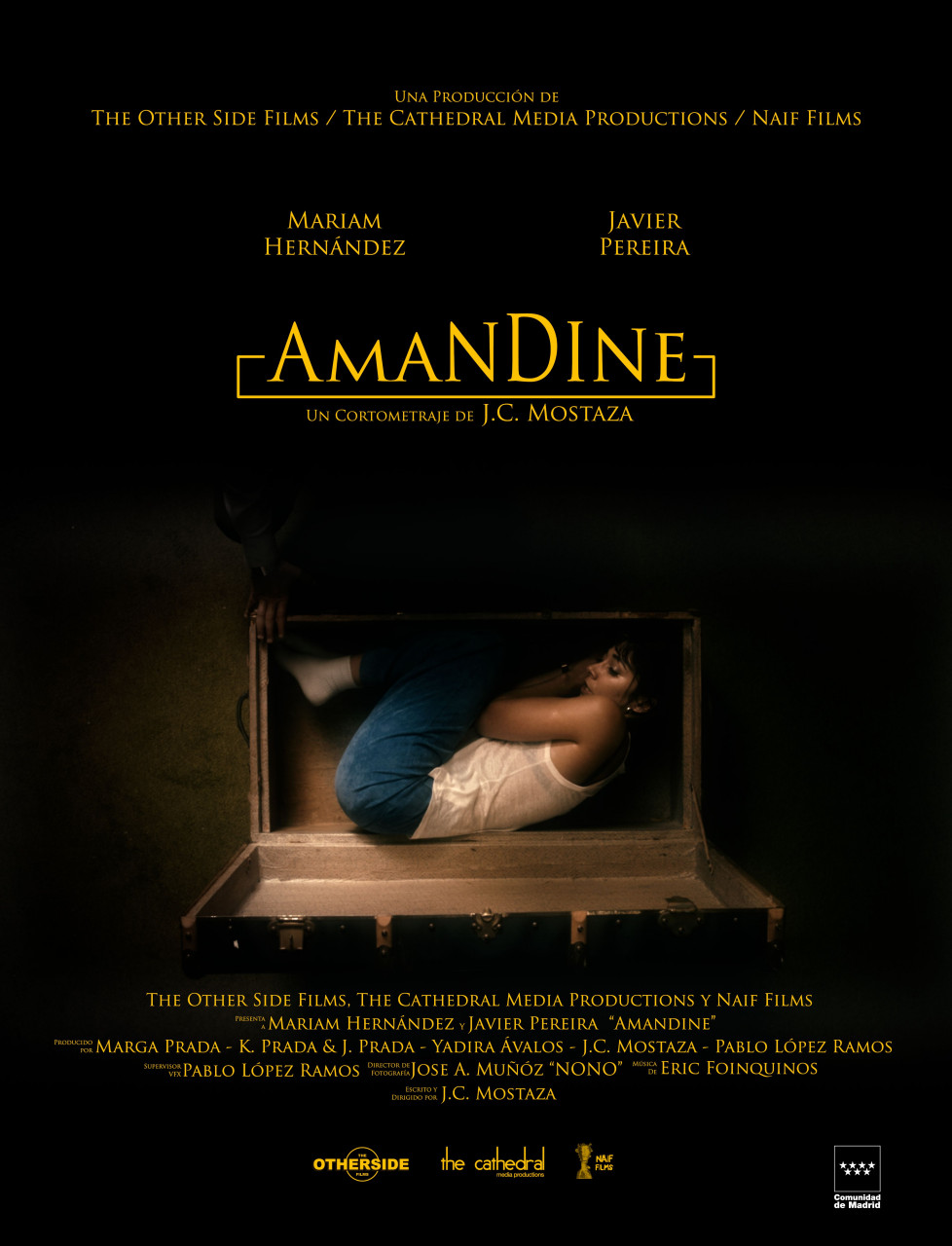 Amandine poster